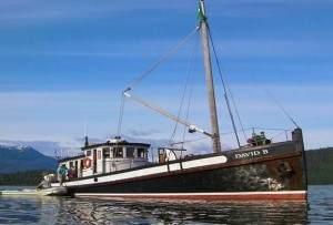"""Das Expeditionsschiff """"David B"""