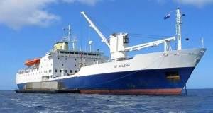 """Das Postschiff """"St. Helena"""""""