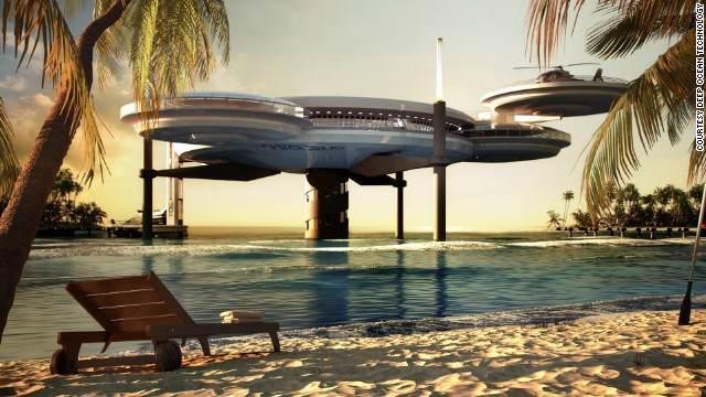 Svemirski brod ili podvodni hotel na Maldivima? - Bookiraj