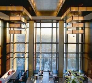 """Die Lobby des """"Mandarin Oriental"""" in Tokyo"""