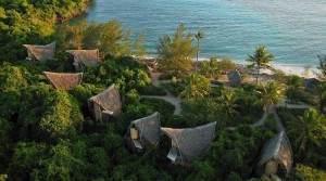 """Chumbe Island Lodge"" auf Sansibar"