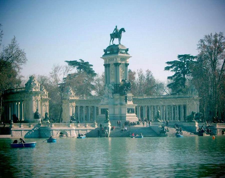 Park-Retiro, Madrid