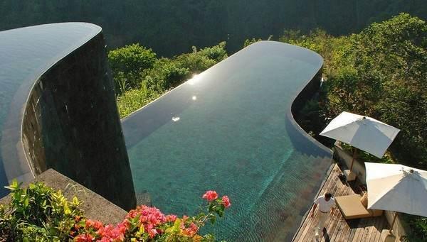 Pool im Hotel Ubud Hanging Gardens 1