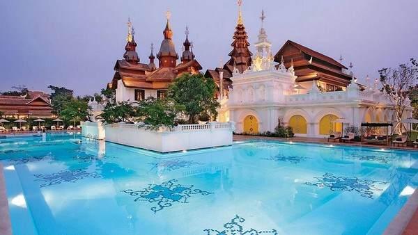 Pool im Mandarin Oriental Dhara Devi im thailändischen Chiang Mai
