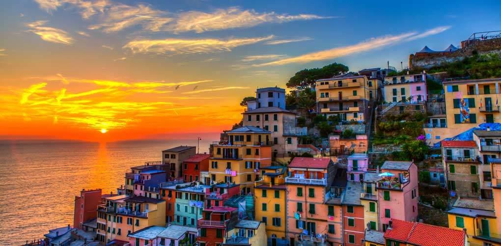 sunset_cinqueterre