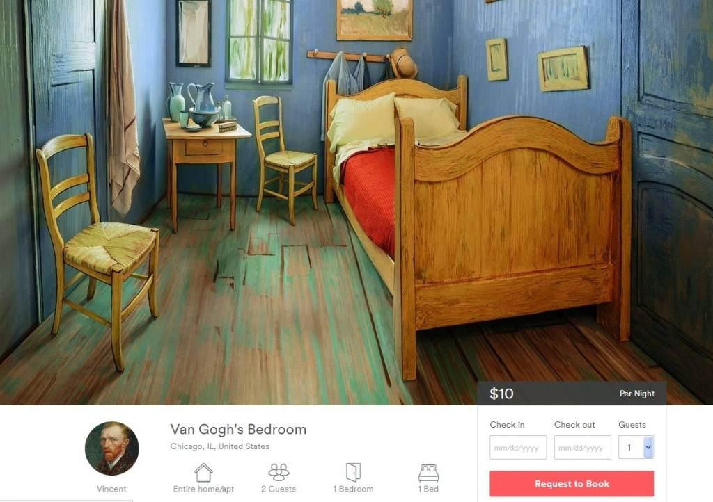 van gogh airbnb