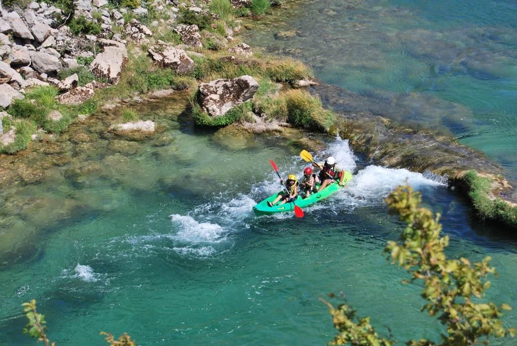 Zrmanja River canoe safari (2)