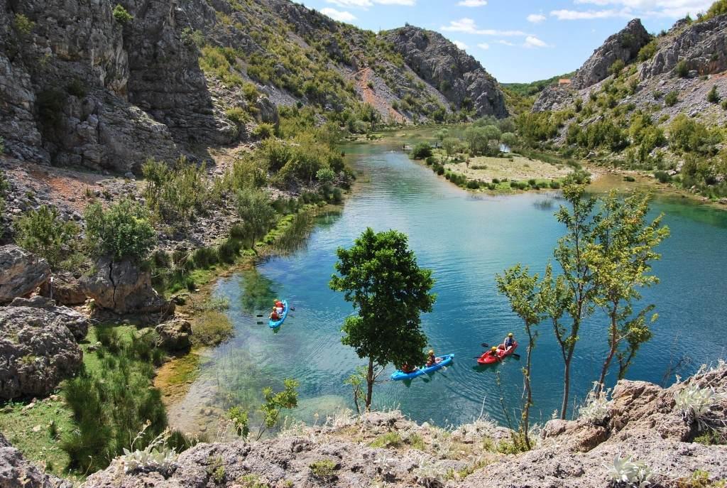 Zrmanja River canoe safari (3)